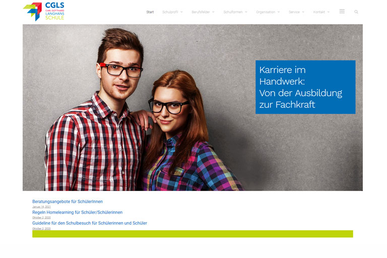 werbe und medienquartier wordpress grafik design webdesign